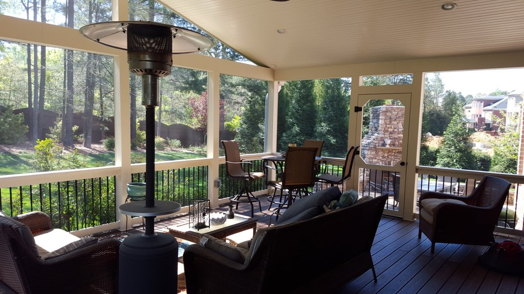 amazing screen porch 7214 stonehave