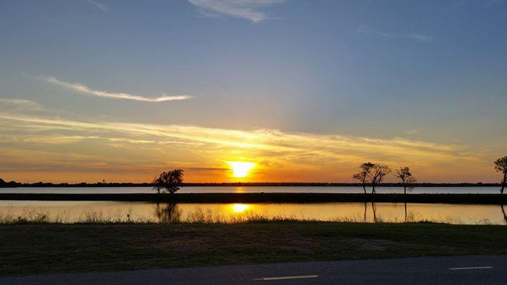 Lake Overholser Sunsets