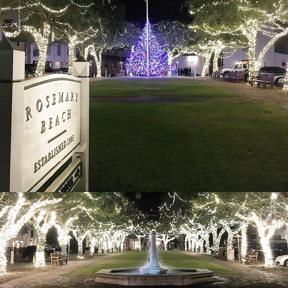 Rosemary Beach Christmas