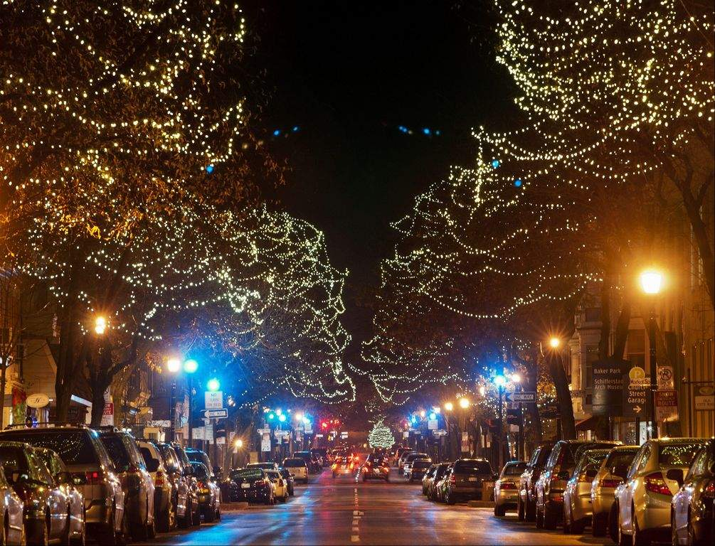 Christmas in Frederick MD
