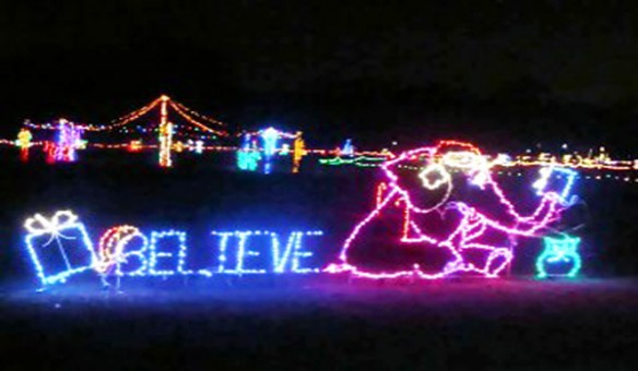 christmas light displays for the tampa bay area - Bay Area Christmas Lights