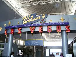 The welcome sign at McCarran International Airport points out Beth Ellyn Rosenthal, eXp Realty
