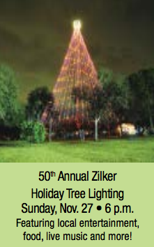 On December 10, 1967, the first tree was lighted by Mayor Pro Tem Mrs. Emma Long.