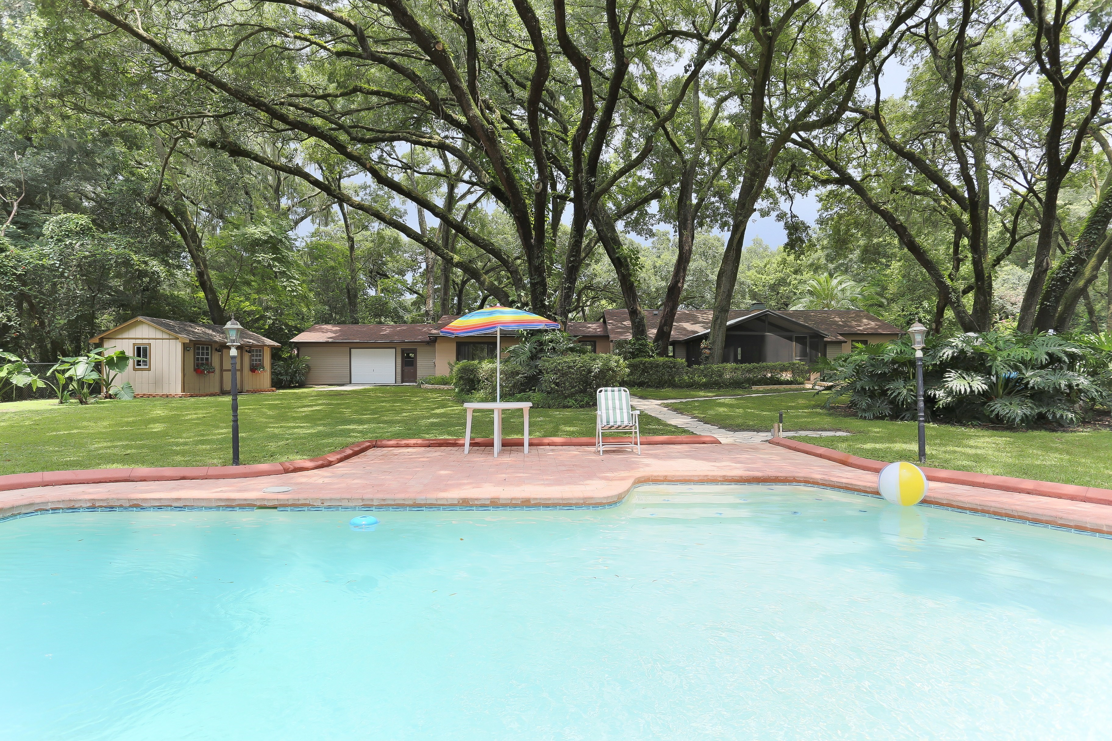 One Acre Pool Homes for Sale in Brandon FL 33510