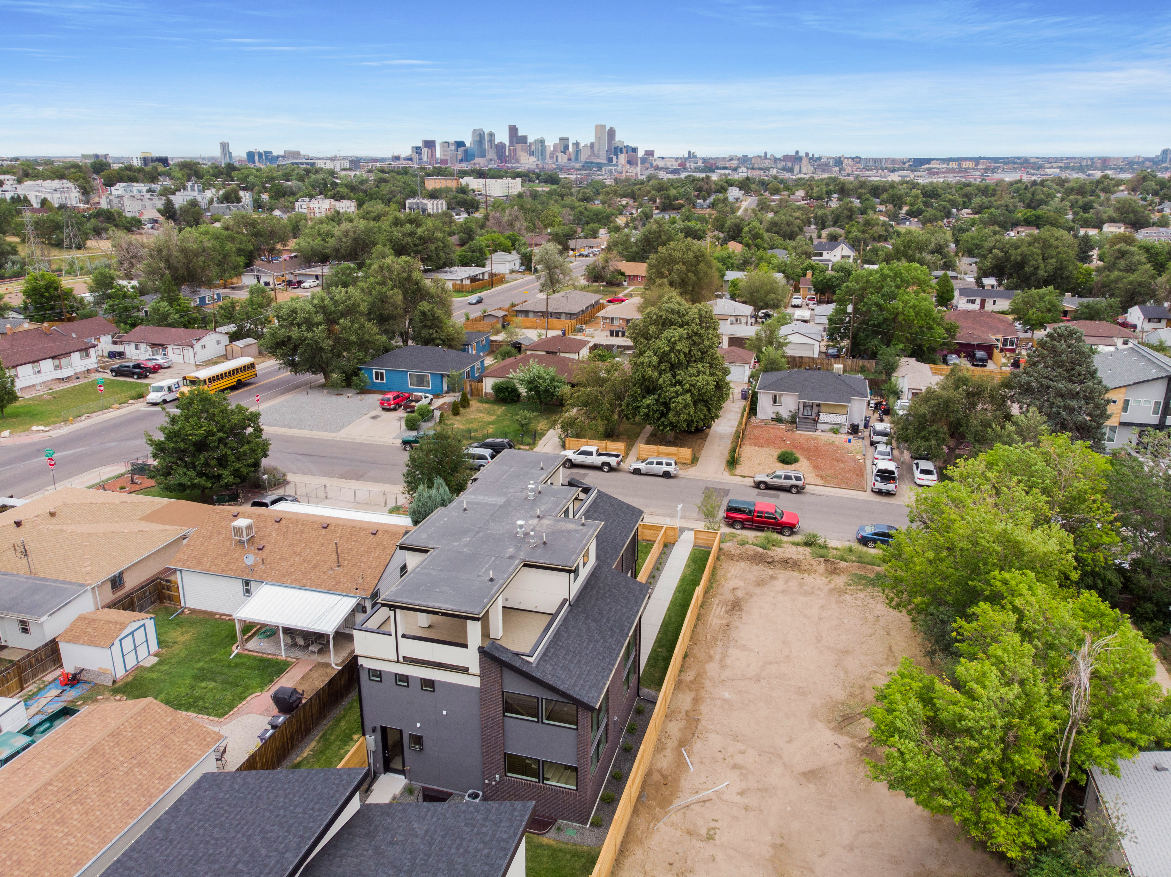 971 Tennyson St.  Completed in 2019 and currently for sale MLS#8537526