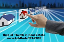 Rule of thumb in Real Estate