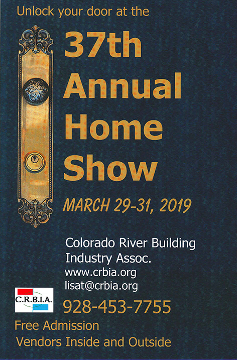 Image titleThe CRBIA's annual Lake Havasu City Home Show | The 37th Edition 2019