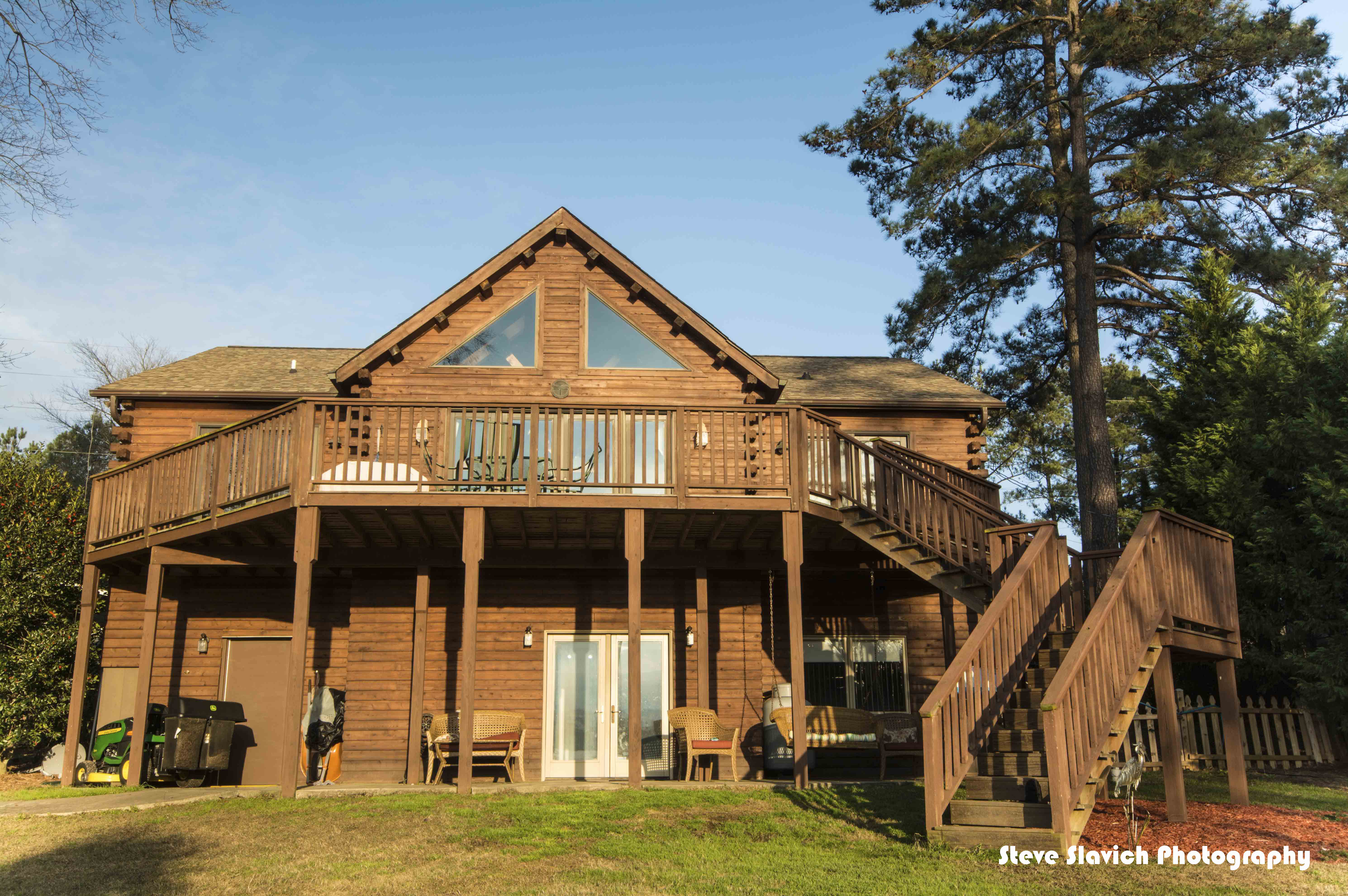 Just listed relaxing log cabin retreat for Log cabin retreat