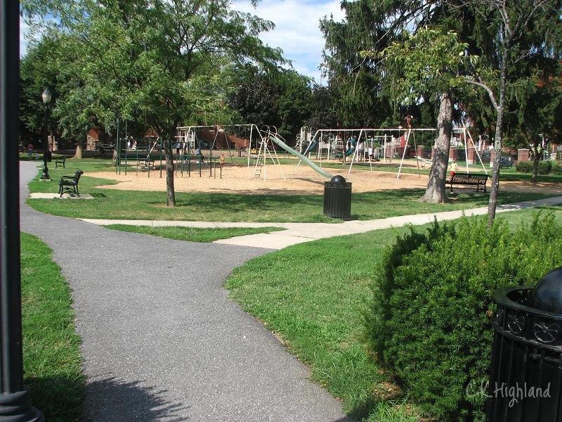 Baker Park playground