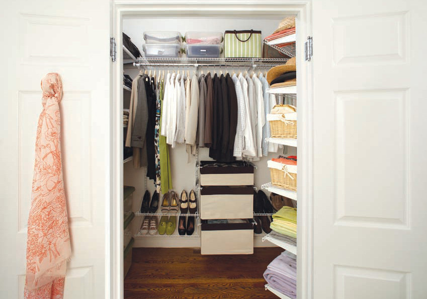 Open Closet House Staging Bellingham Whatcom