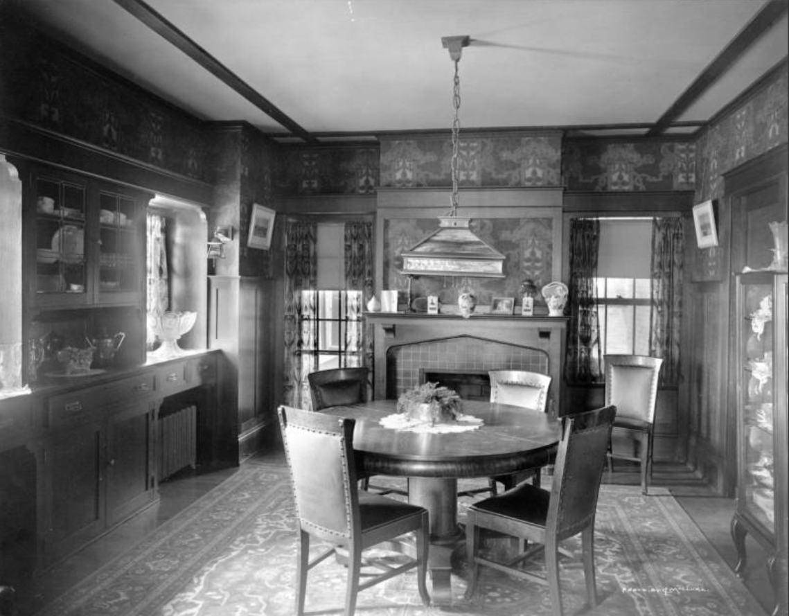 Denver residences, interior [between 1910 and 1920?]