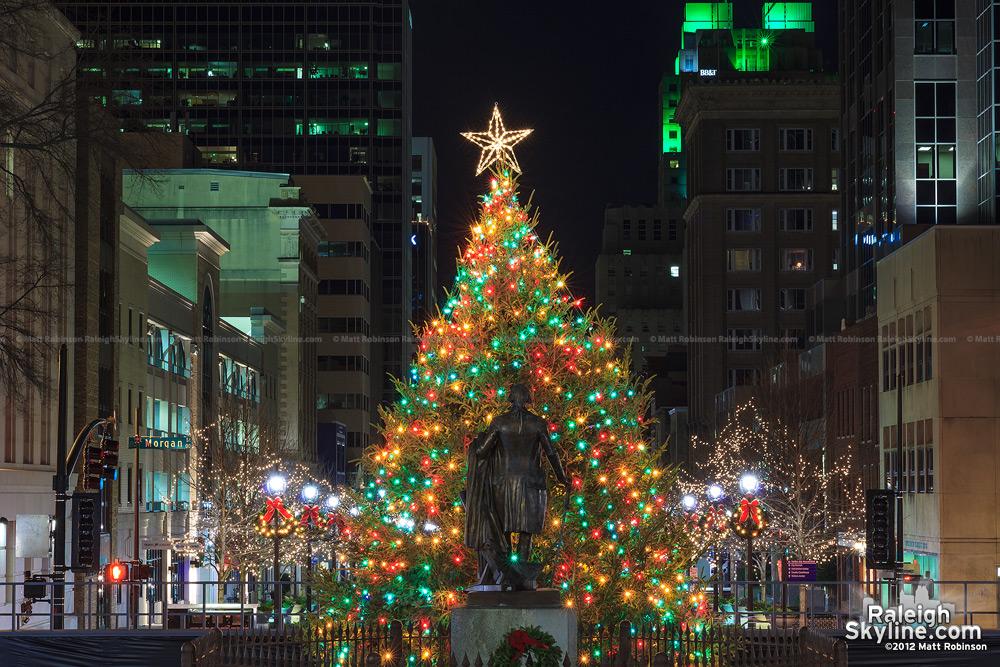 Raleigh Christmas Tree