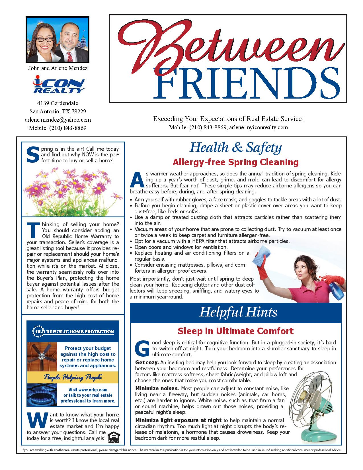 March news letter