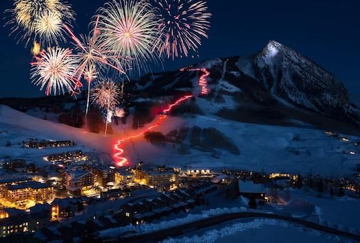 Mt. Crested Butte Torchlight Parade