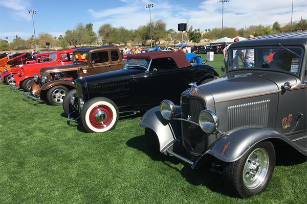 32 Ford Car Show