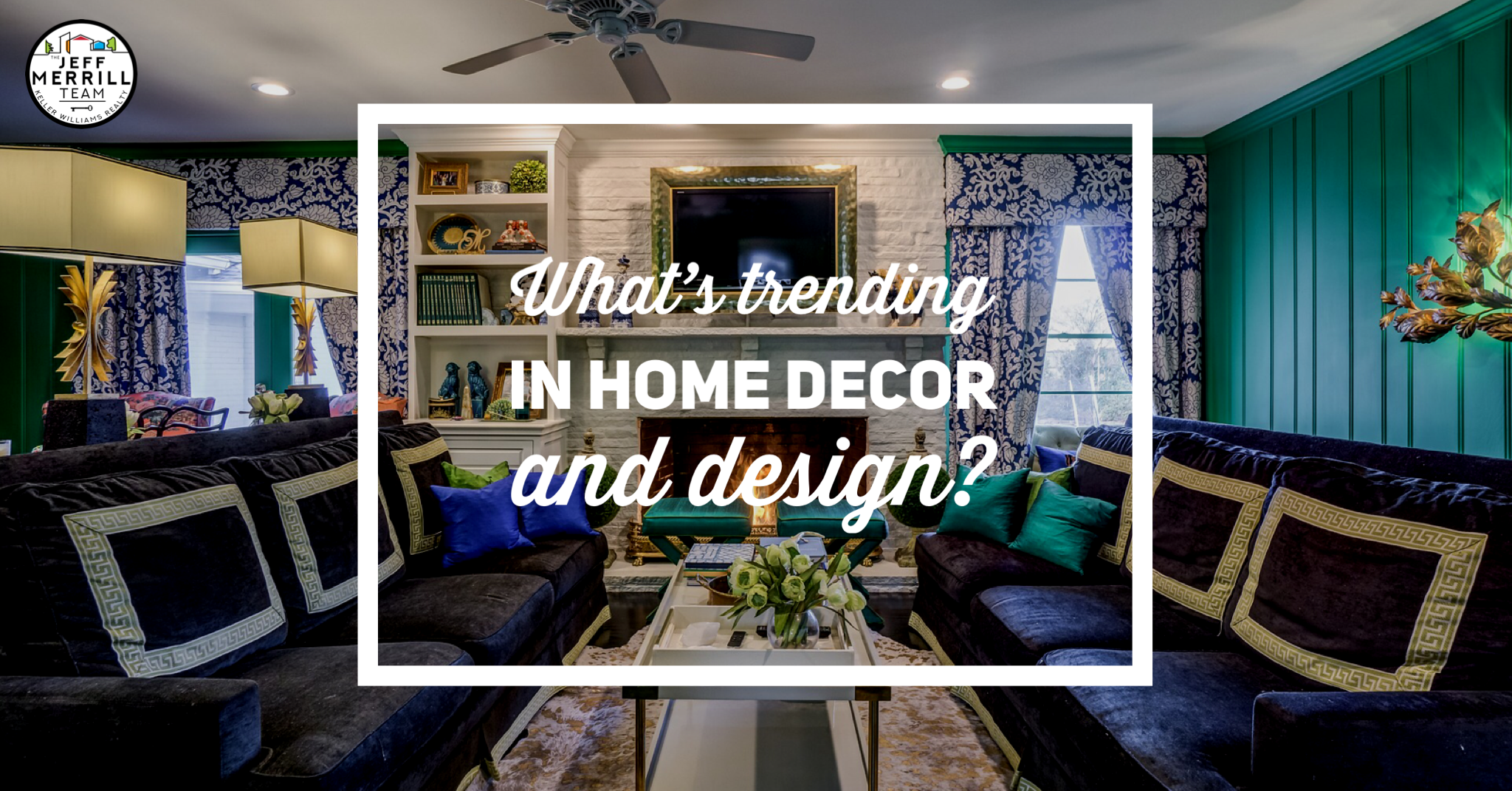 What's trending in home decor and design?