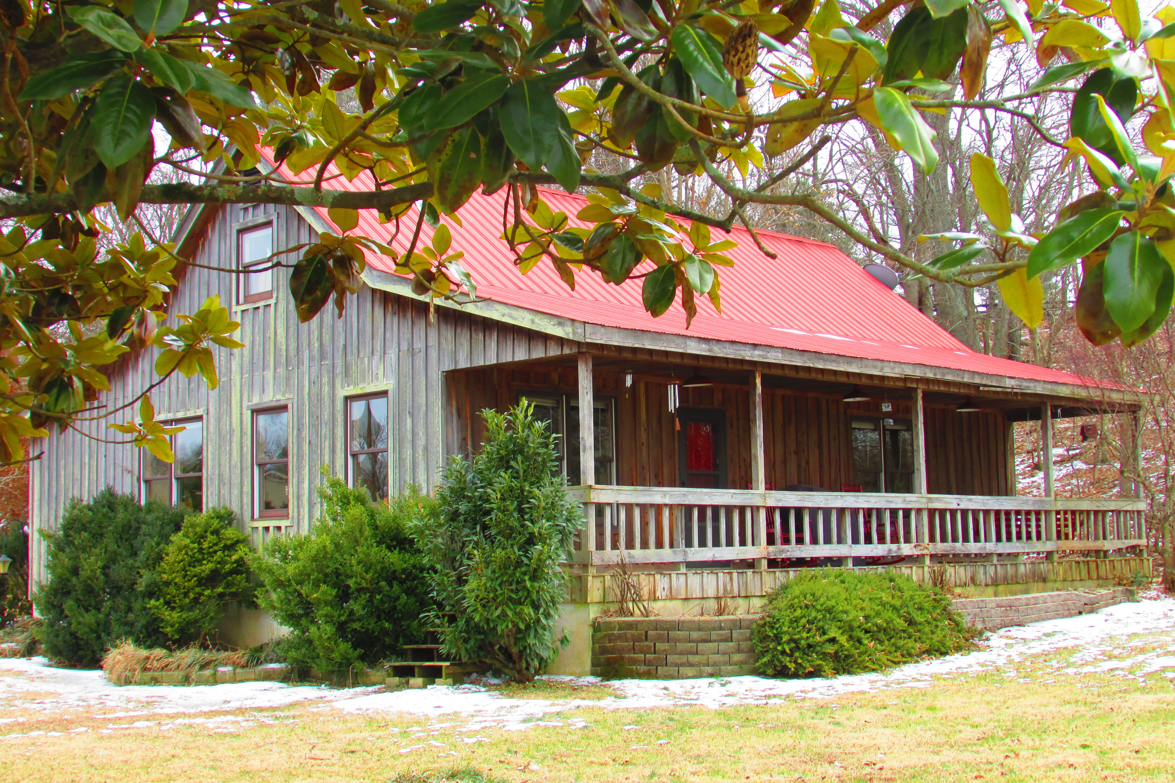 Cabin Style Home For Sale In Franklin Tennessee With Land