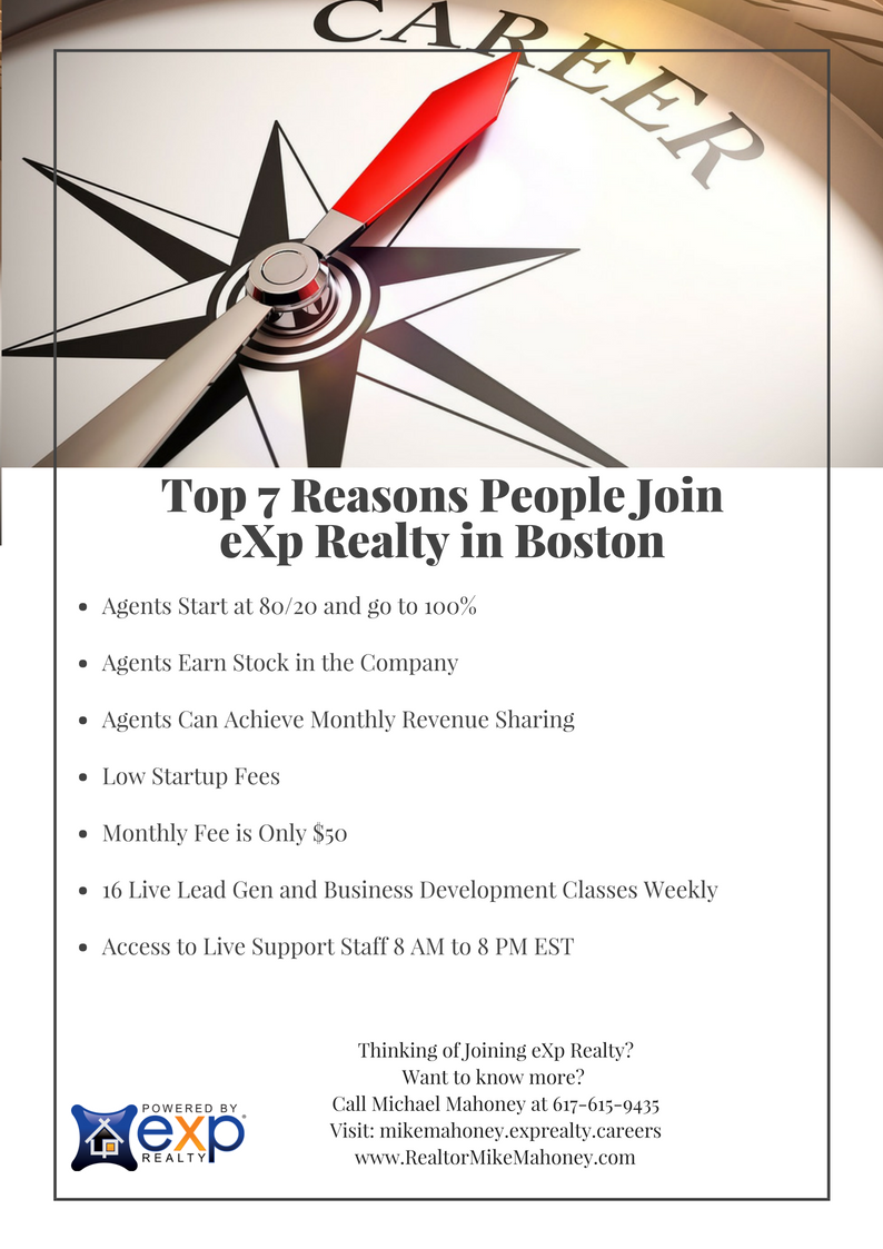 Reasons People Are Wanting to Join eXp Realty in Boston