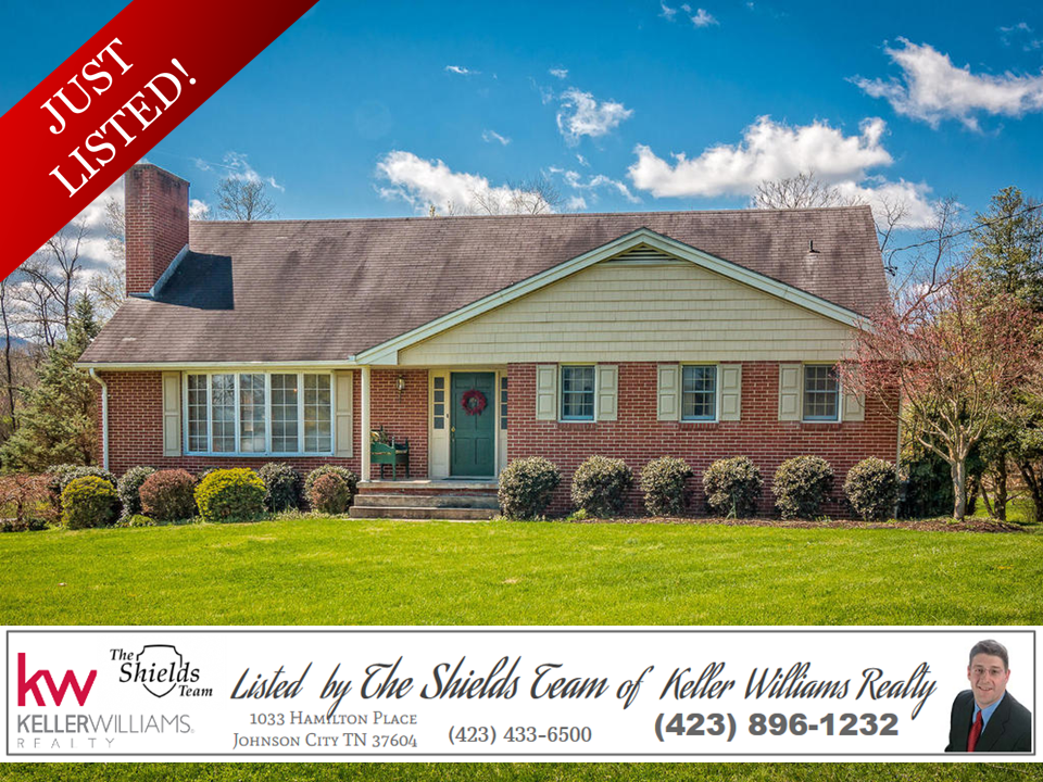 Just listed 1902 pleasant view drive for Interior design johnson city tn