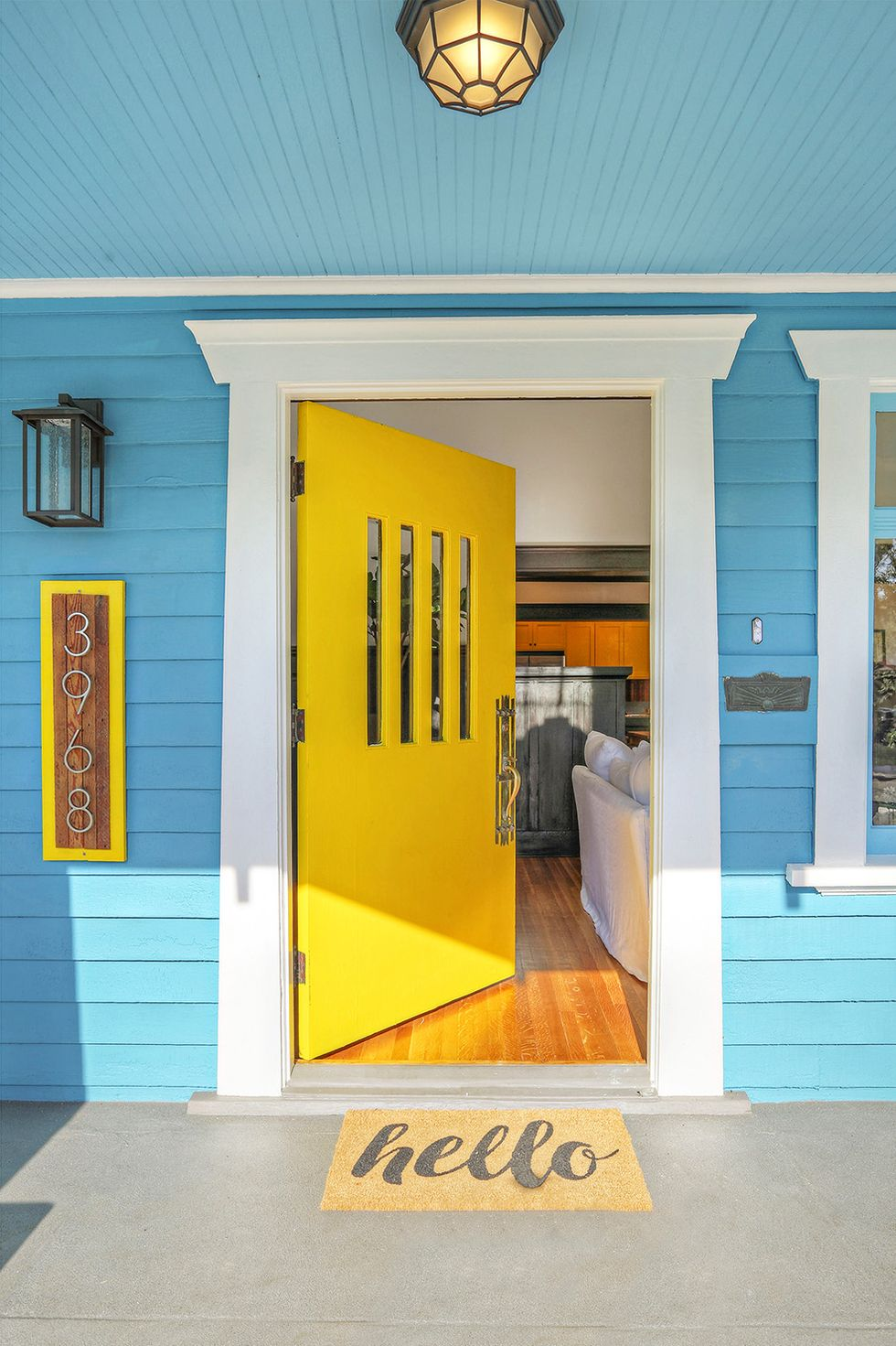 Bright Yellow by Valspar