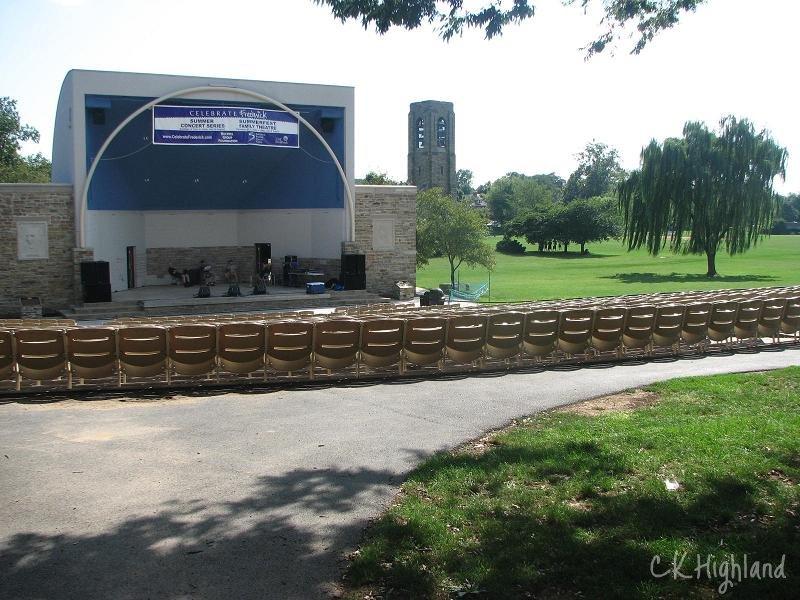 Baker Park amphitheater