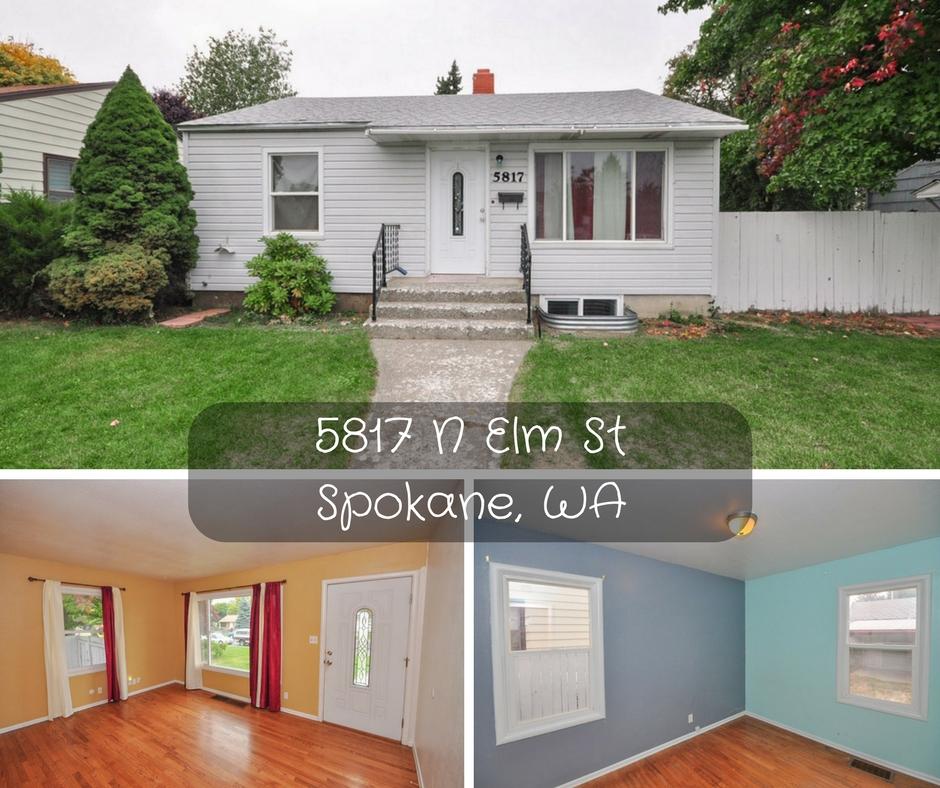 5817 N Elm St Spokane WA 99205