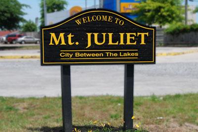 Welcome To Mt. Juliet