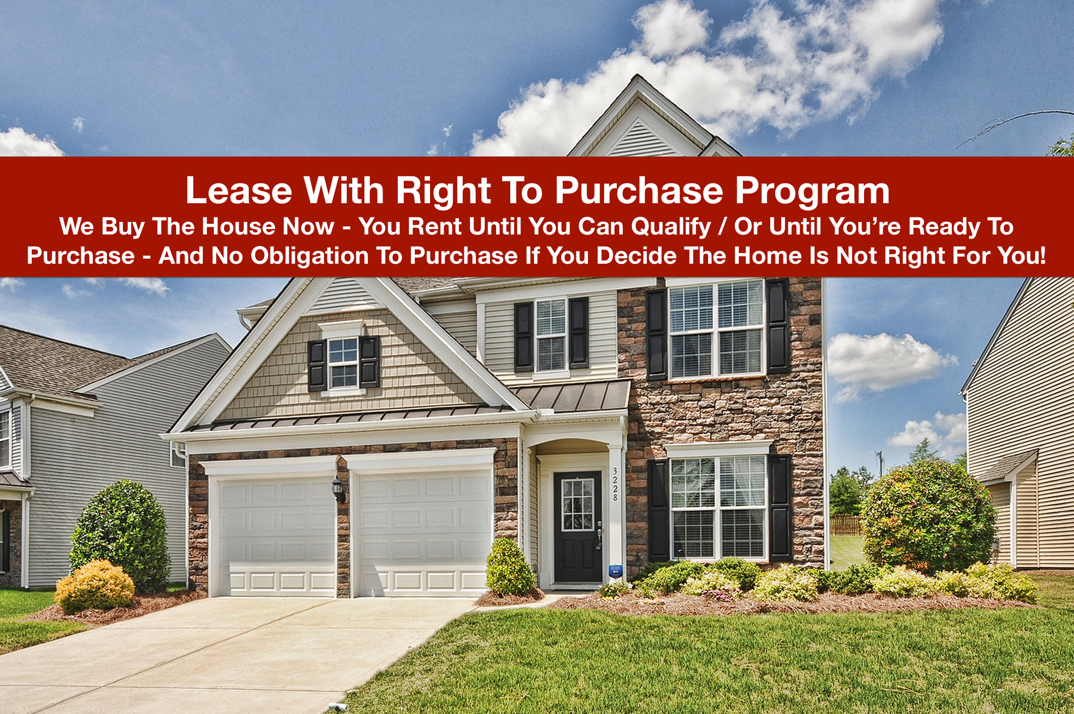 Lease Purchase Program Charlotte NC - RE/MAX Metro Realty Josh Fretz