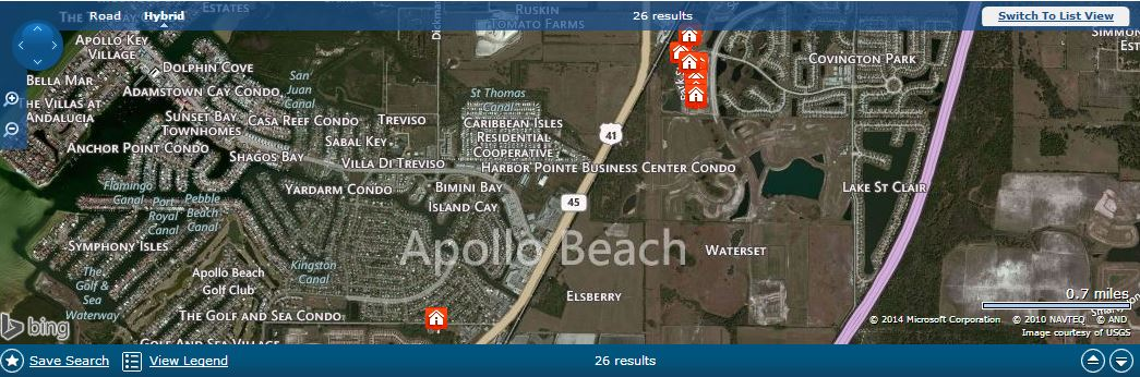Waterset Neighborhood Homes in Apollo Beach Florida