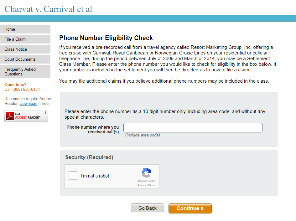 Class Action Lawsuit Free Cruise Robocalls Receive 300 To 900 Dollars