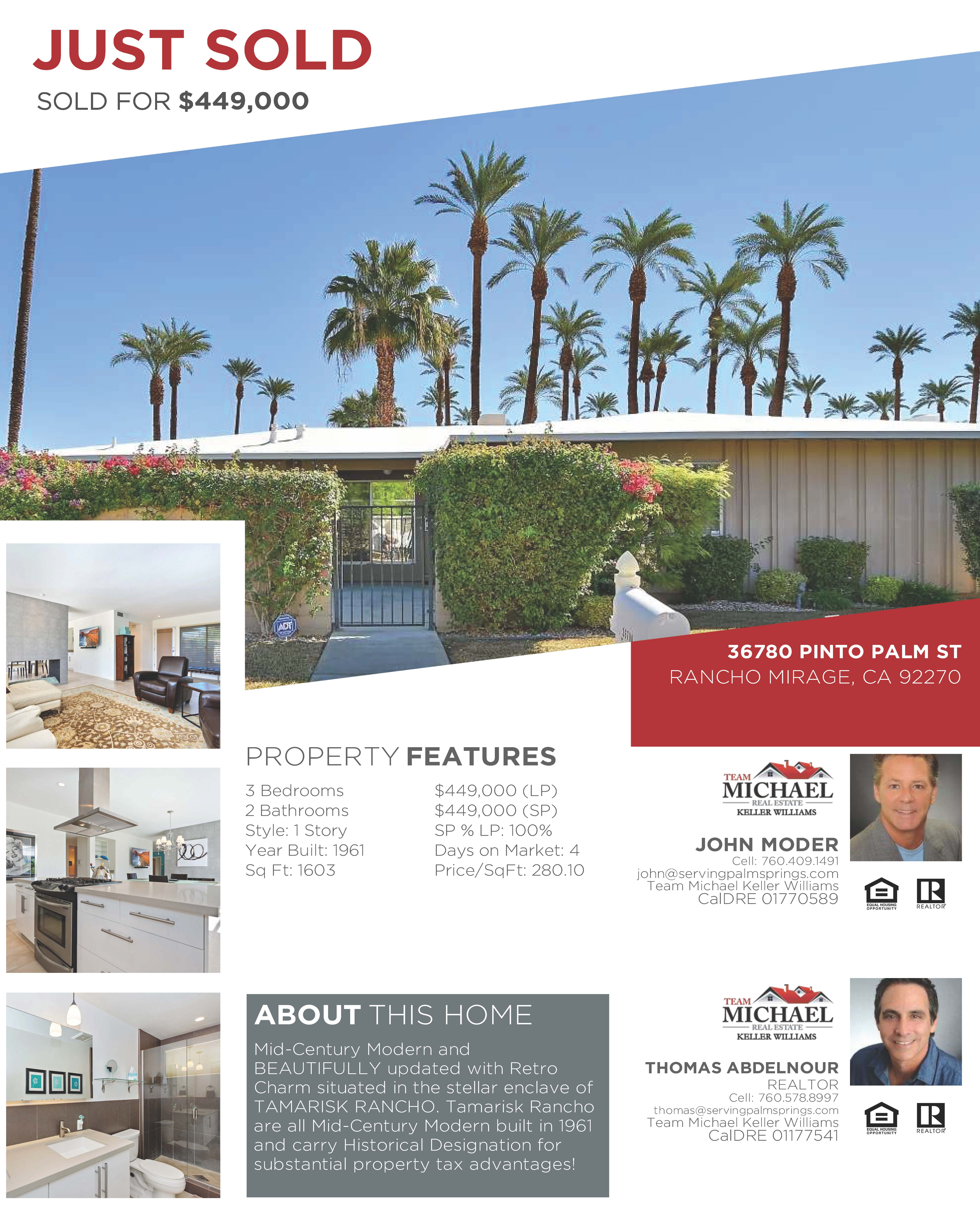 36780 Pinto Palm Street <a href='https://www.servingpalmsprings.com/index.php?types[]=1&types[]=2&areas[]=city:Rancho Mirage&beds=0&baths=0&min=0&max=100000000&map=0&quick=1&submit=Search' title='Search Properties in Rancho Mirage'>Rancho Mirage</a>