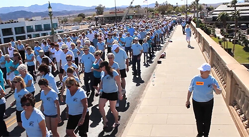 Image titleLake Havasu's 8th Annual Line Dance on London Bridge