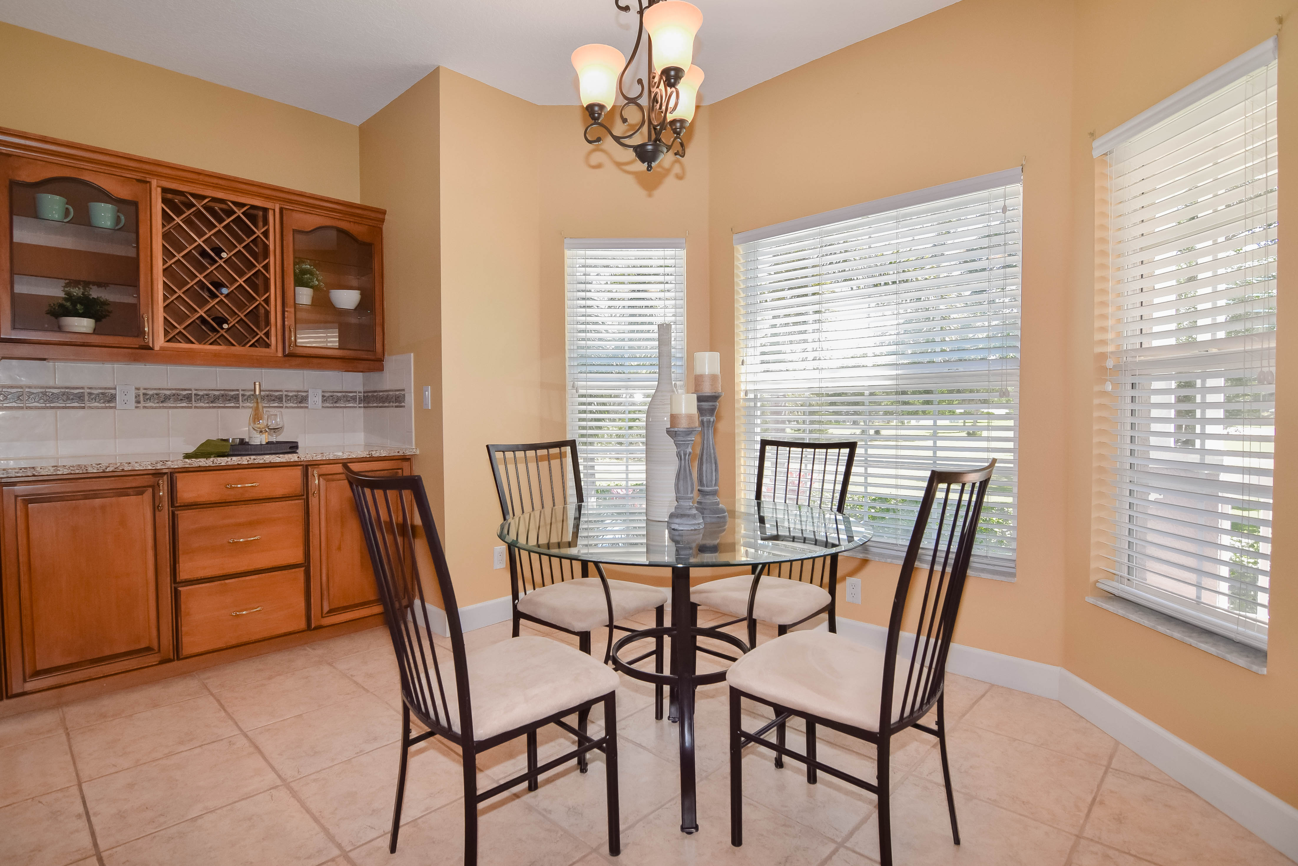 Dinette Adjacent to Kitchen