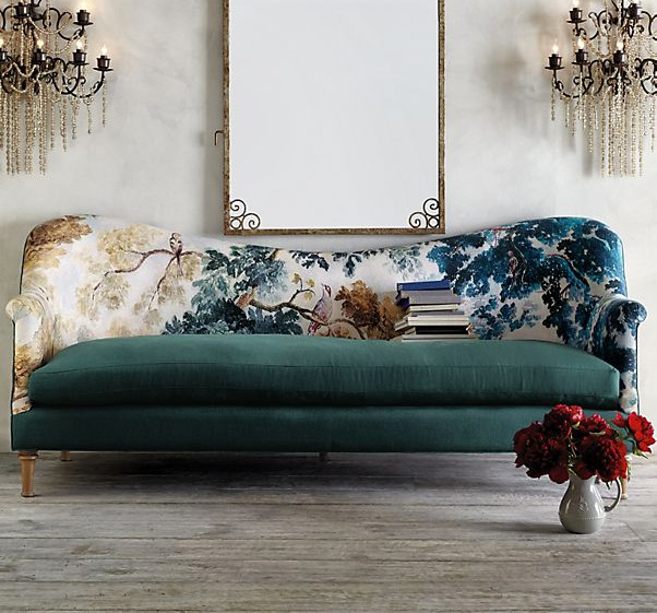The 2018 Home Decor Trend Of Bold Patterned Couches And Seating