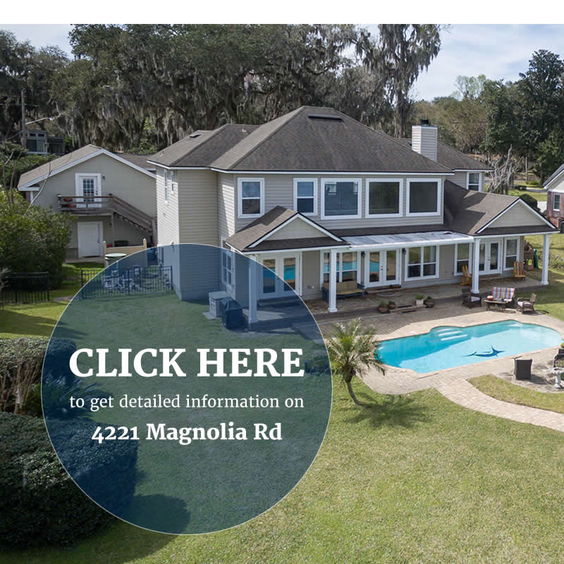 4221 Magnolia Rd - Home for sale Doctors Lake