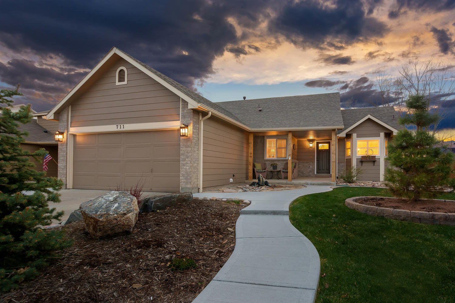 Home for Sale at 711 S 21st Ct Brighton CO 80601 listed by Jason Peck 720-446-6301
