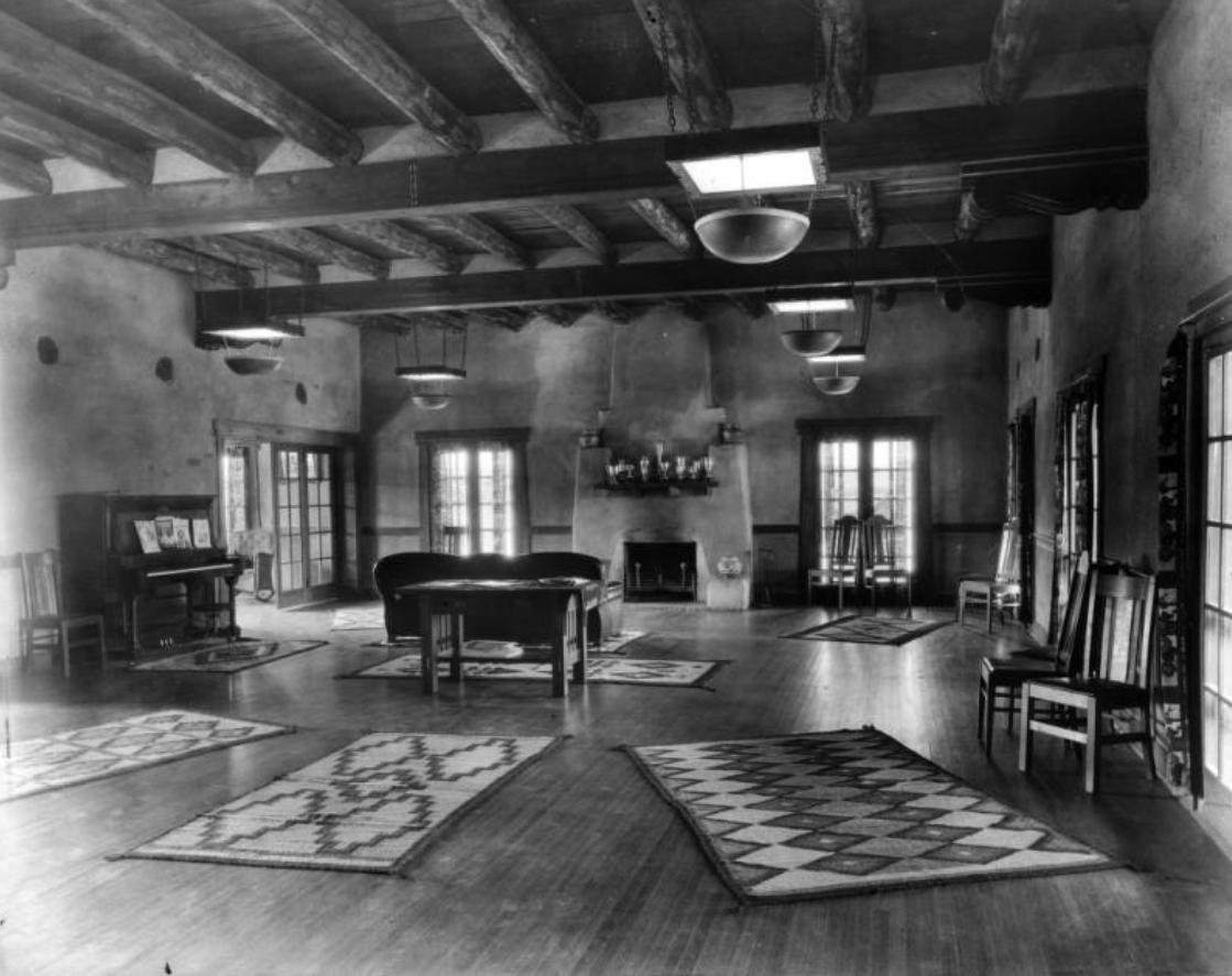 Interior view of Trinidad Country Club, Trinidad, Colorado [between 1921 and 1925?]