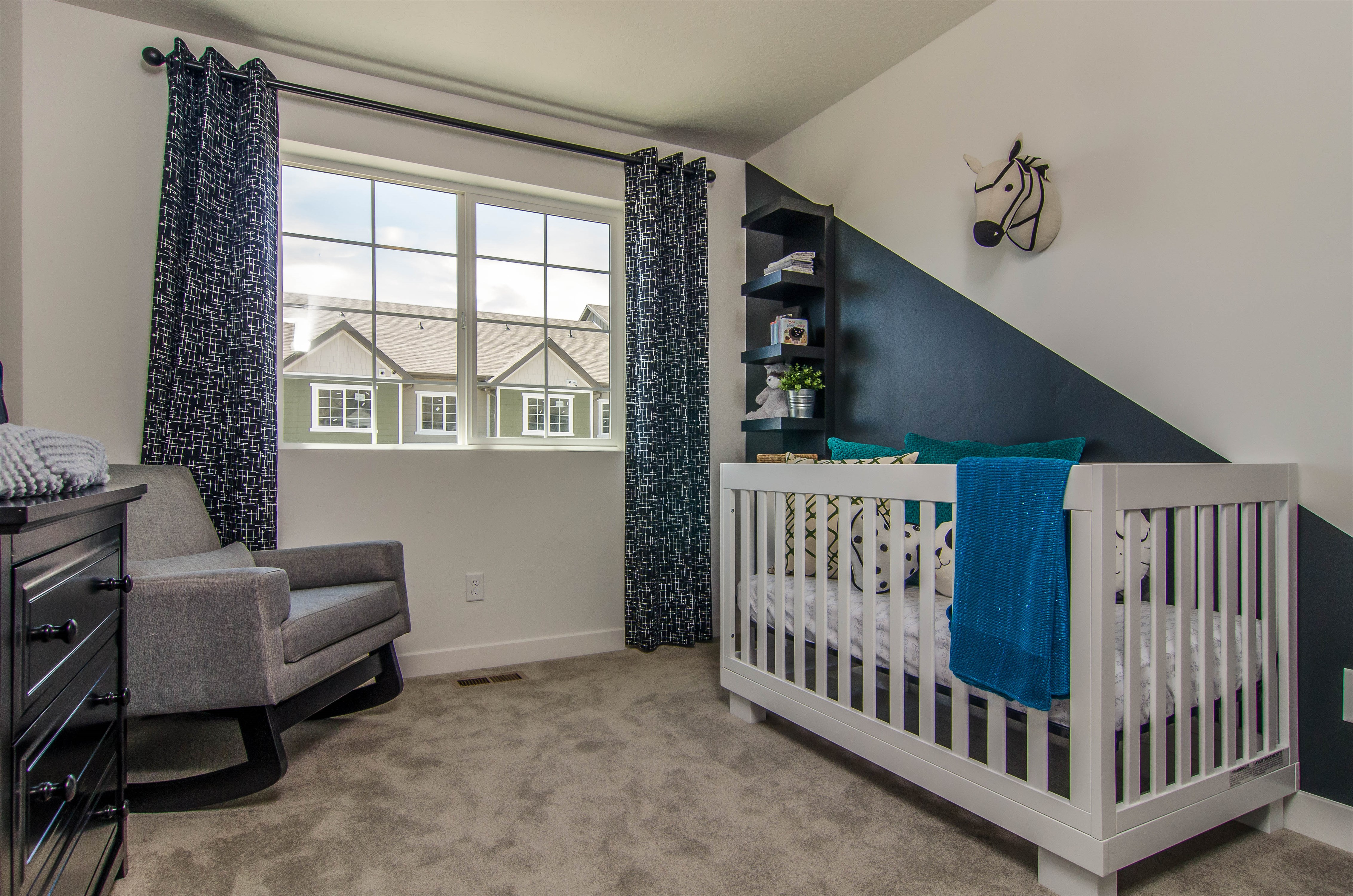 Oakwood townhomes bedroom 2