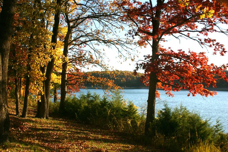 Great fall views!