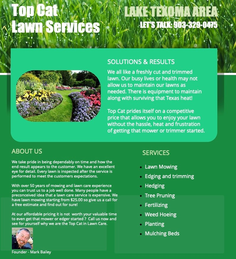 Top Cat Lawn Services