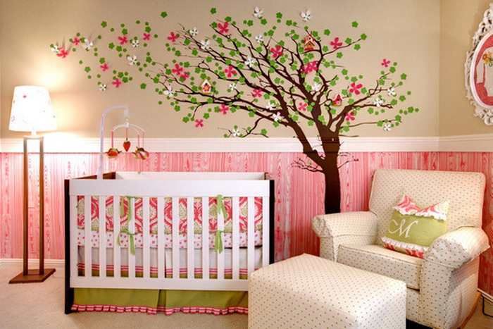 Blooming Tree Wall Mural