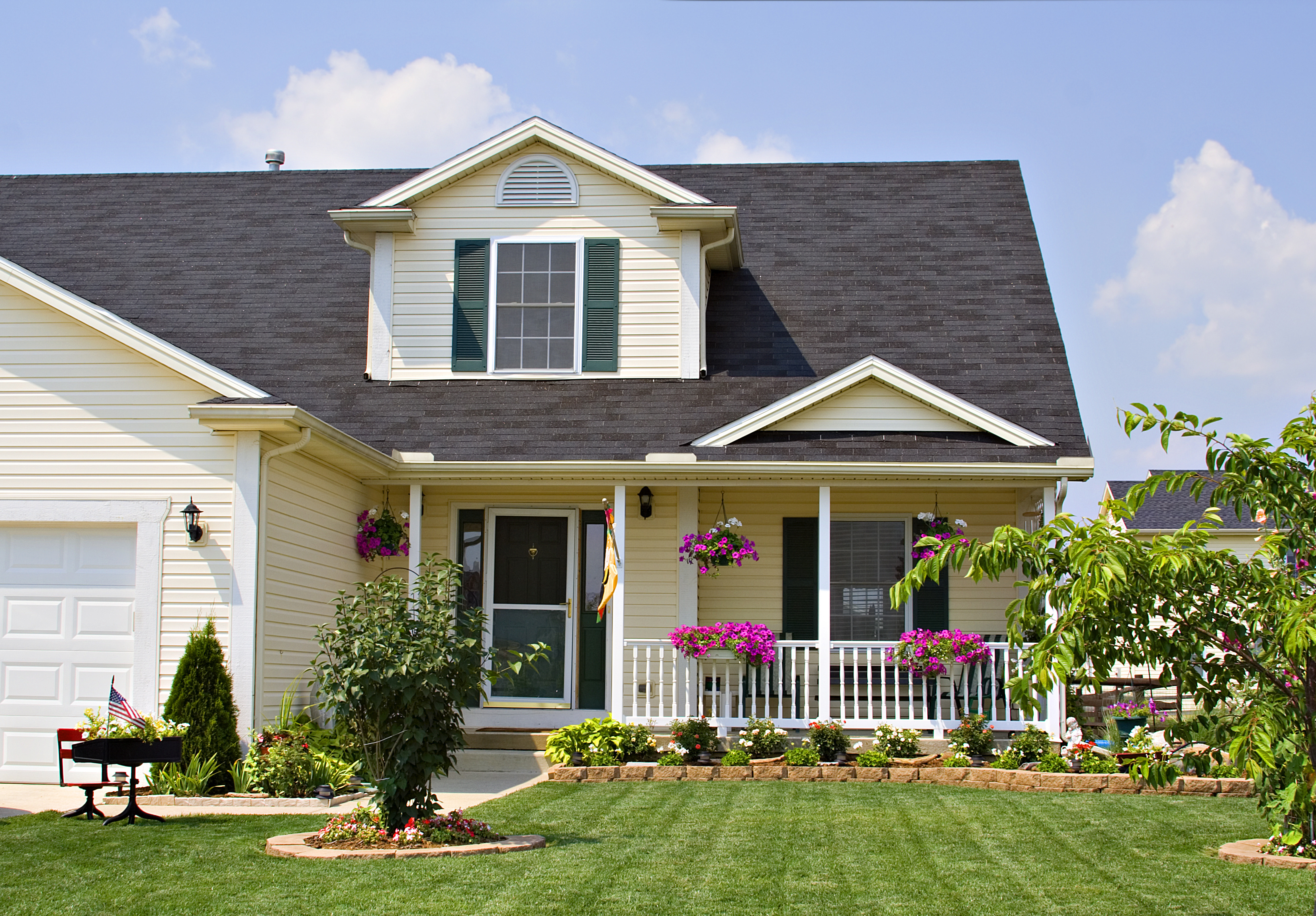 Curb appeal can help you sell your house quickly and for the most money.