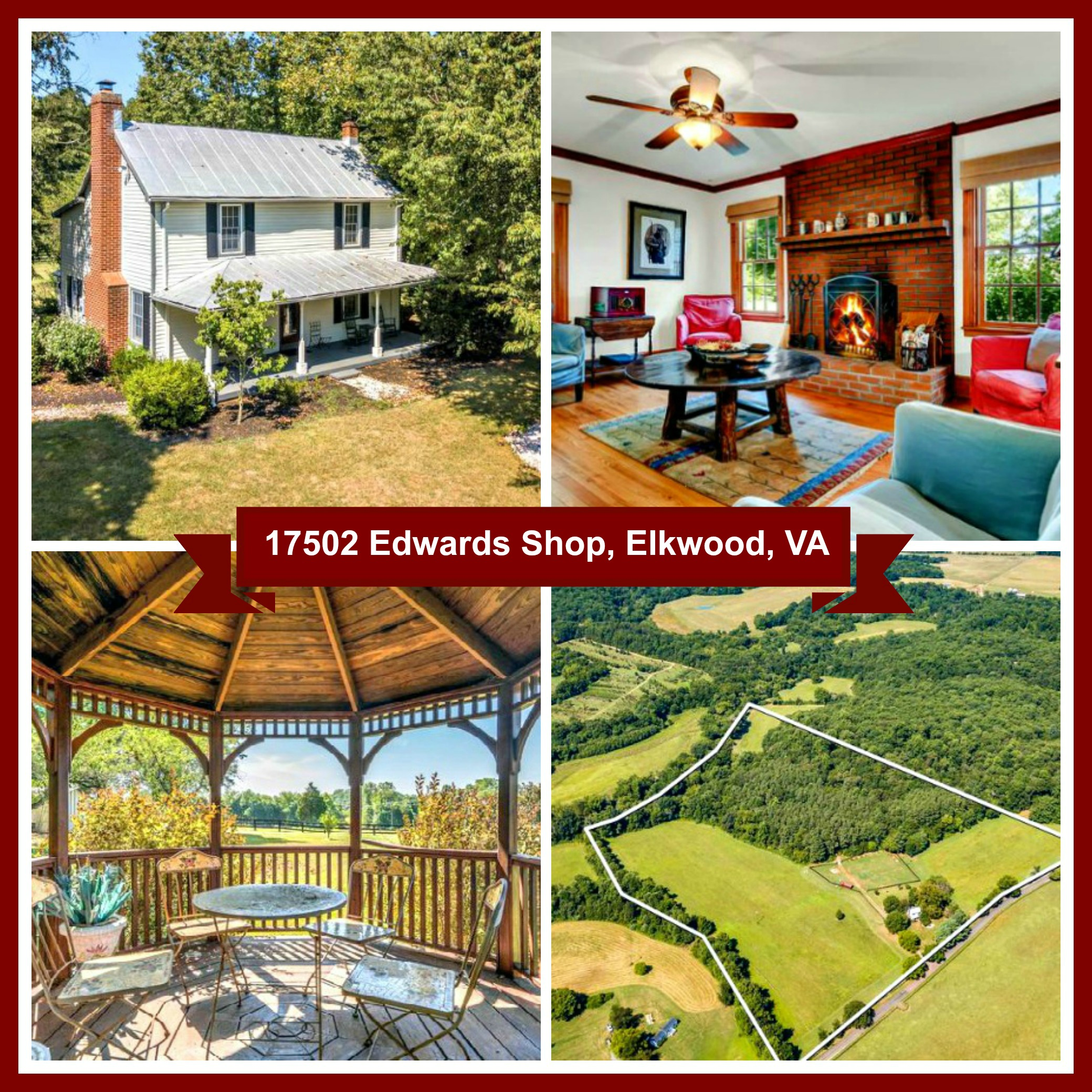 Image title17502 Edwards Shop, Elkwood, VA for Sale B&B