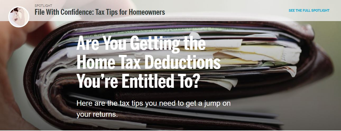 Home Tax Deductions