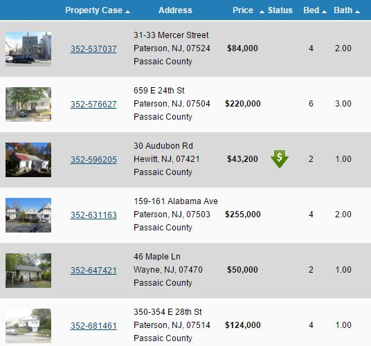 Real Estate Investor Listings