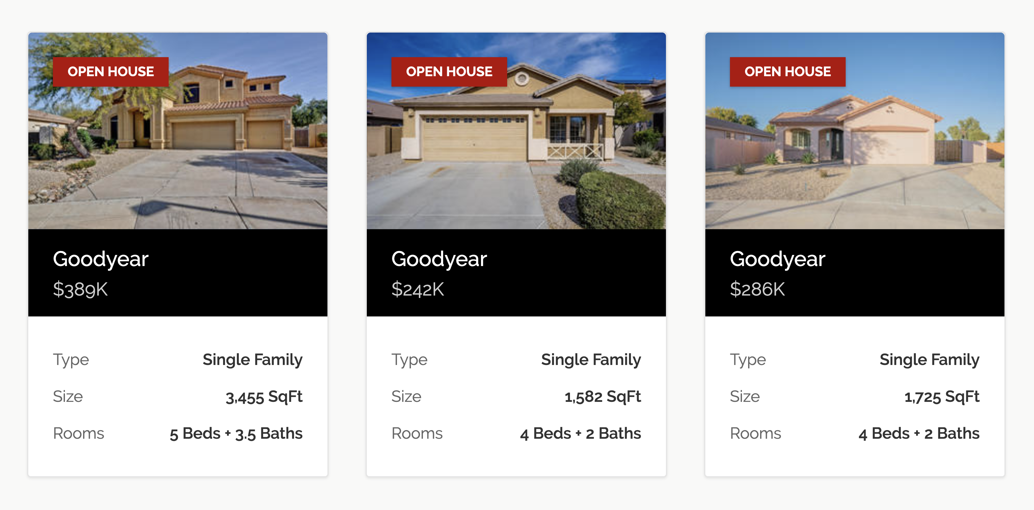 Open Houses In Goodyear This Weekend