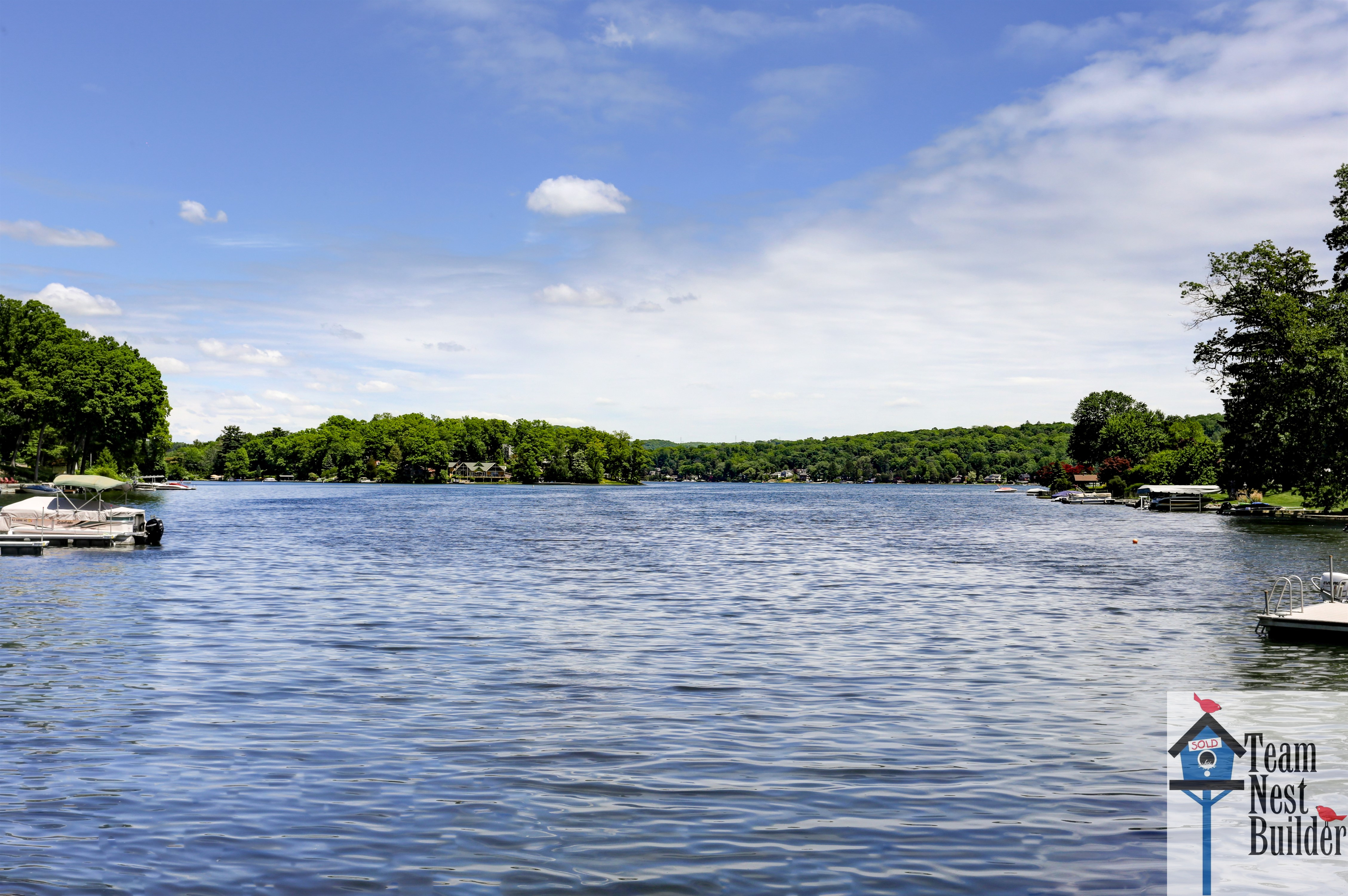 See the Lake Mohawk view for yourself---come visit this amazing home!