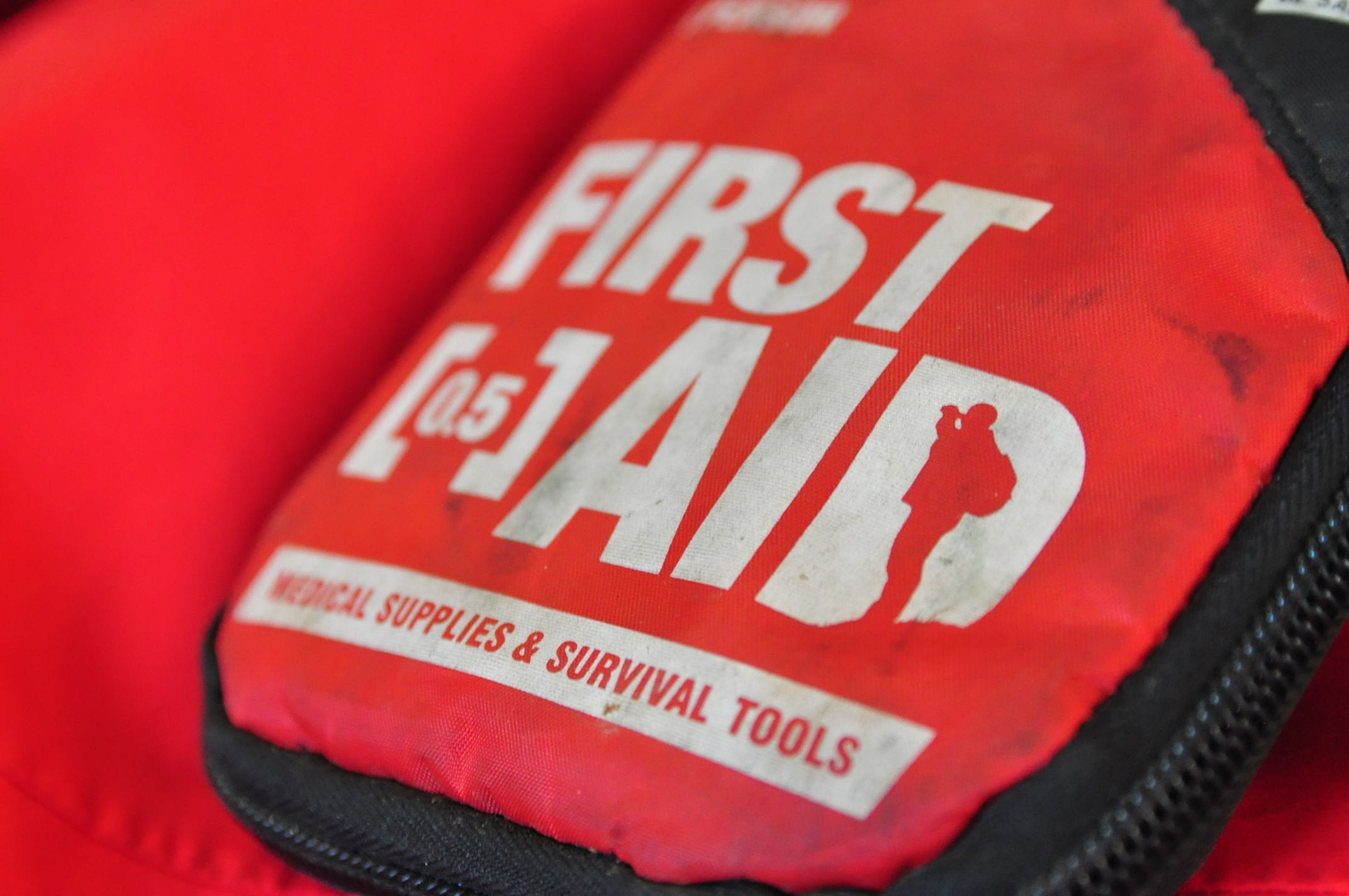 A small first aid kit for on the go