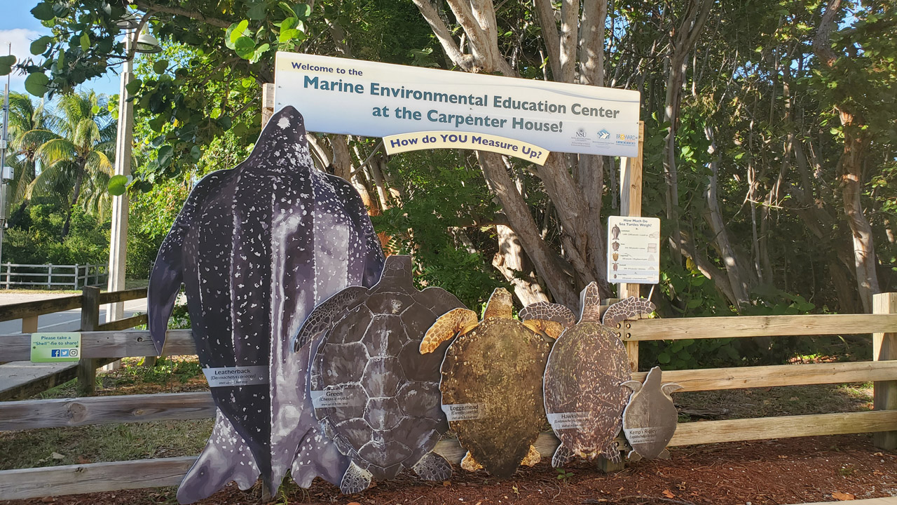 Marine Environmental Education Center at the Carpenter's House in Hollywood Beach