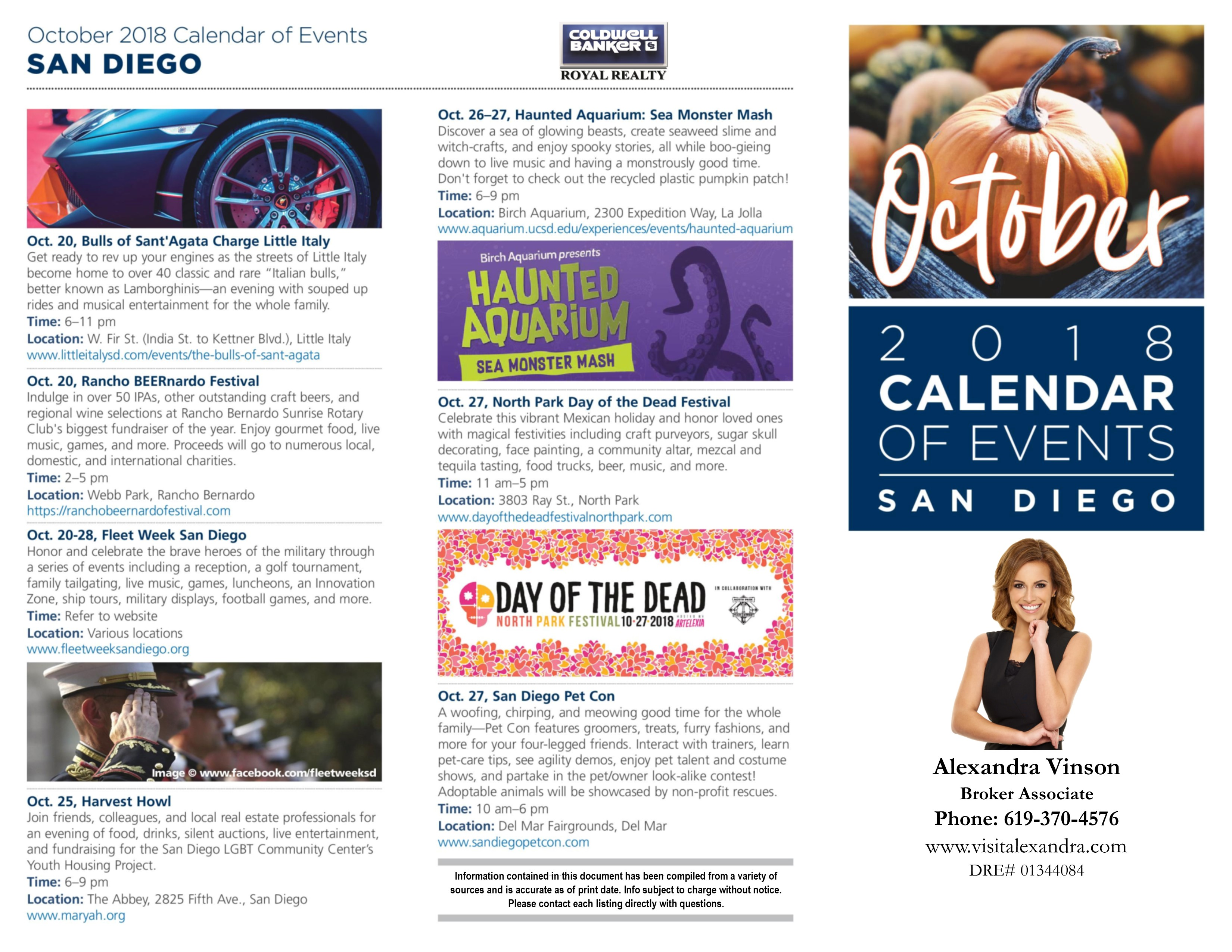 4d2cbcec193a October Months Of Events Whats Fun And Going On In SD County